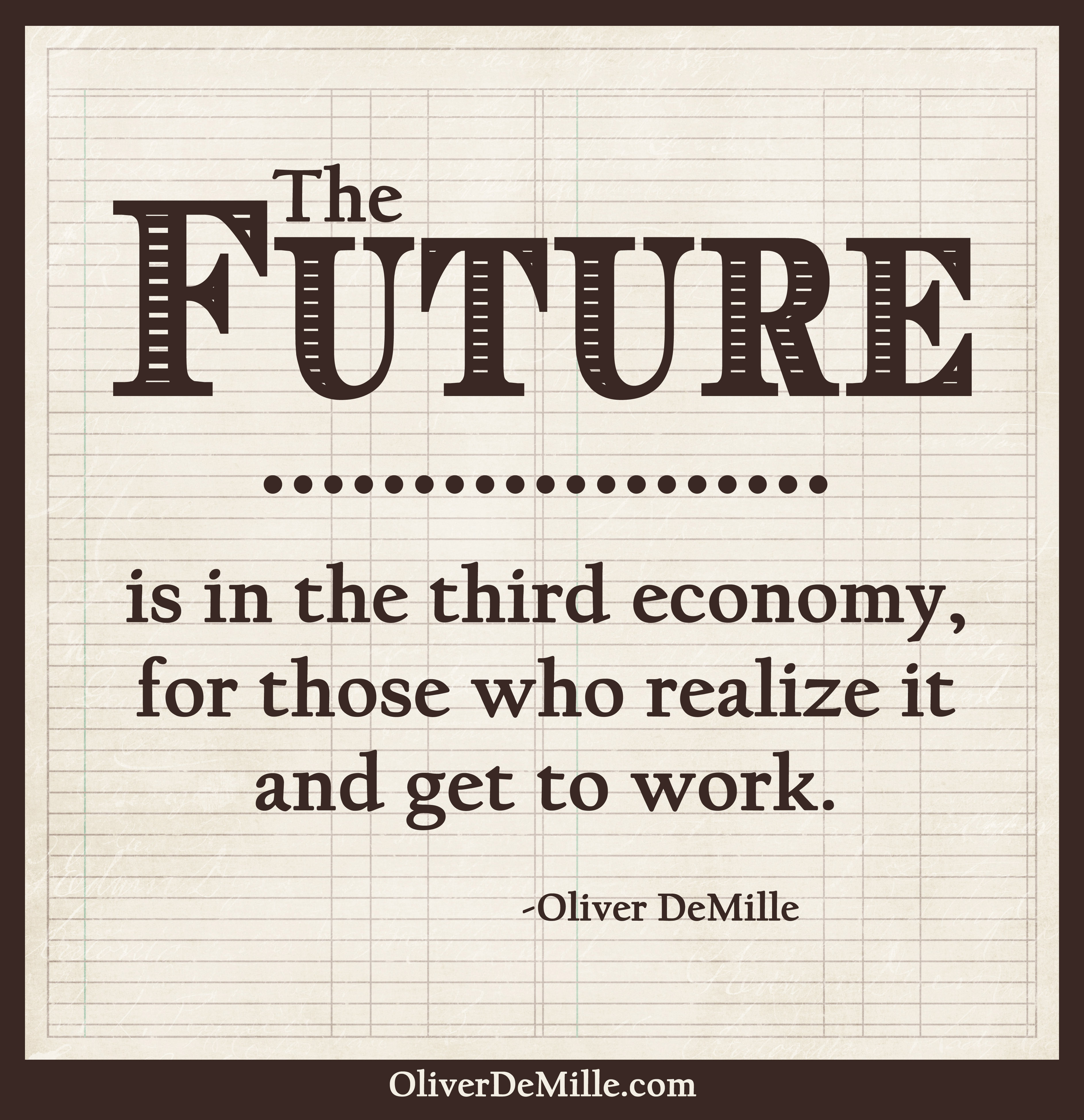 TheThreeEconomies Thefuture The Three Economies by Oliver DeMille